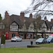 Christmas Eve at the shops on Sycamore Road from Bournville Village Green