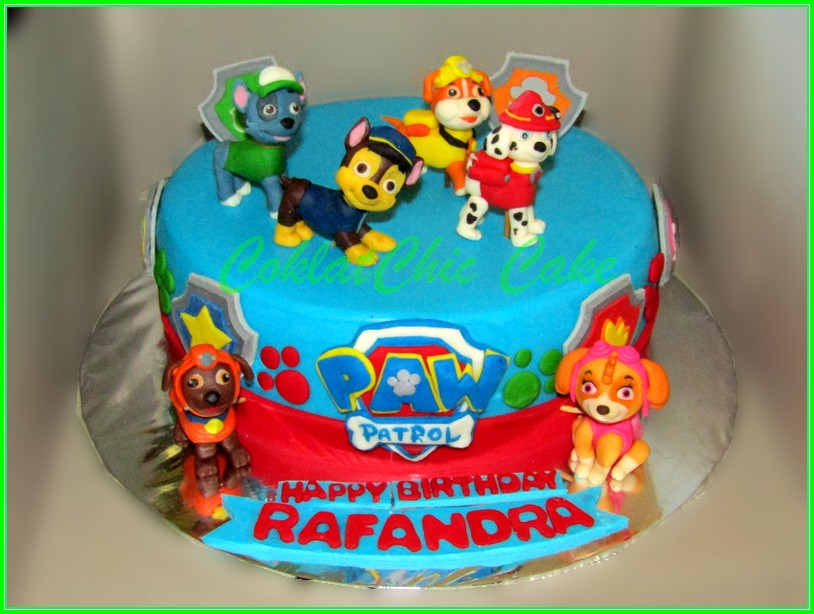 Cake Paw Patrol RAFANDRA 22cm