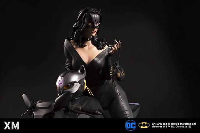 無法抗拒的致命魅力!! XM Studios Premium Collectibles DC【貓女】Catwoman 1/4 比例全身雕像作品
