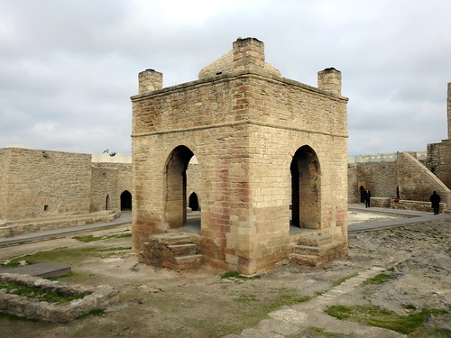 Azerbaijan - Tempio di Zoroastro - Ateshgah