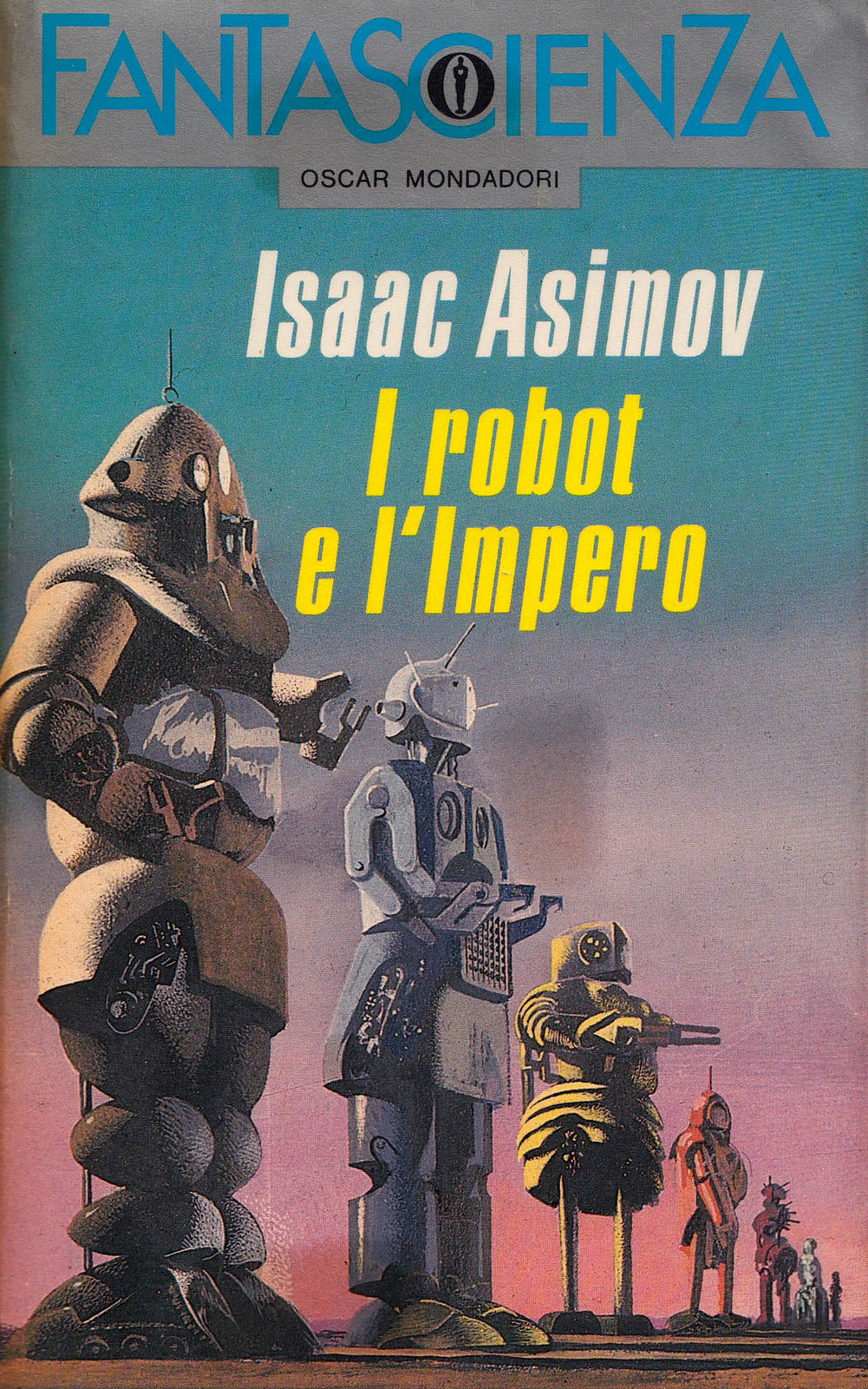 "Karel Thole - Cover for  Isaac-Asimov's ""I Robot""  1989"