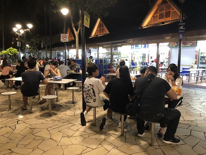 Hawker Center   Night Layover in SIngapore