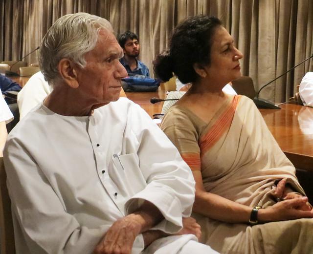 Prof. Dr. Lokesh Chandra and Dr. Nirmala Sharma