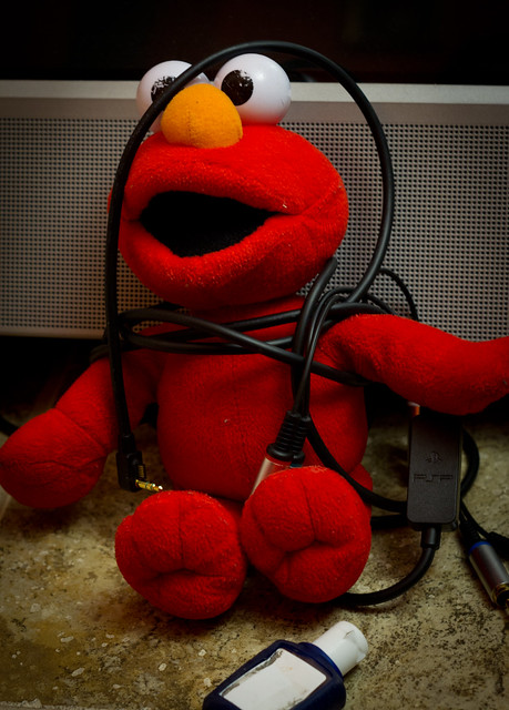 Luddite Elmo
