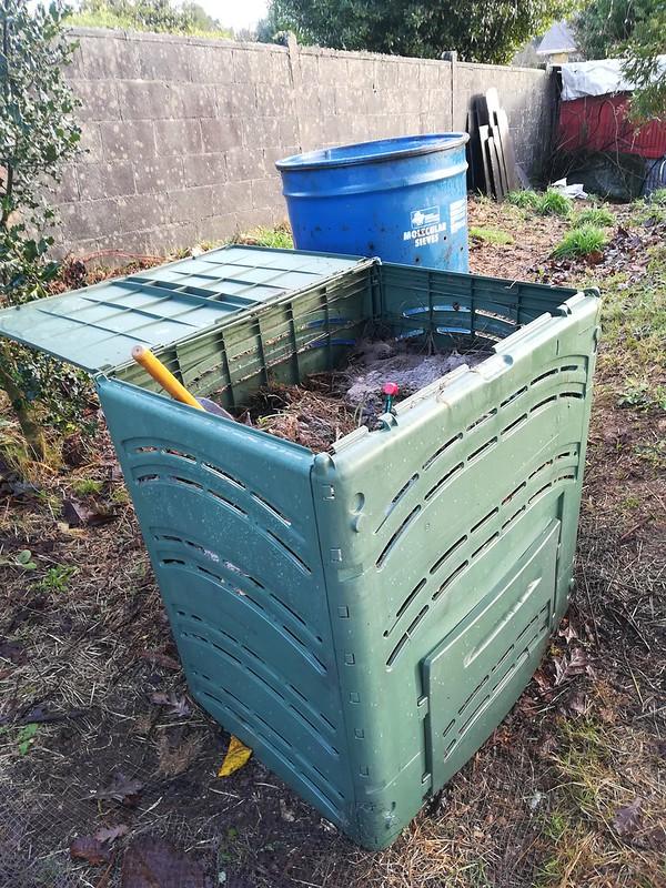 Programa de compostaxe denominado #compostdacasa