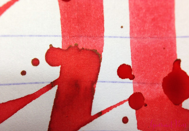 Ink Shot Review Waterman Audacious Red @KnightsWritingC 10