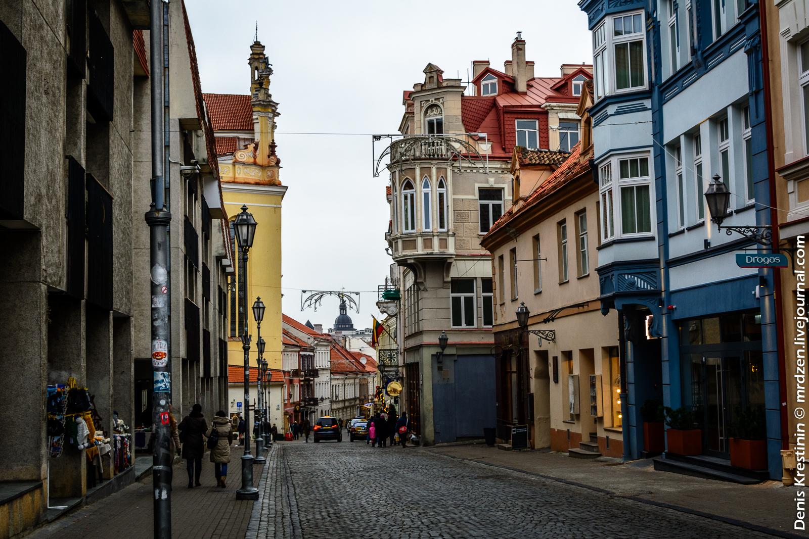 Вильнюс. Замковая улица (Пилес гатве).