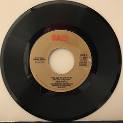 JOHN DAVIS & THE MONSTER ORCHESTRA:UP JUMPED THE DEVIL(RECORD SIDE-B)