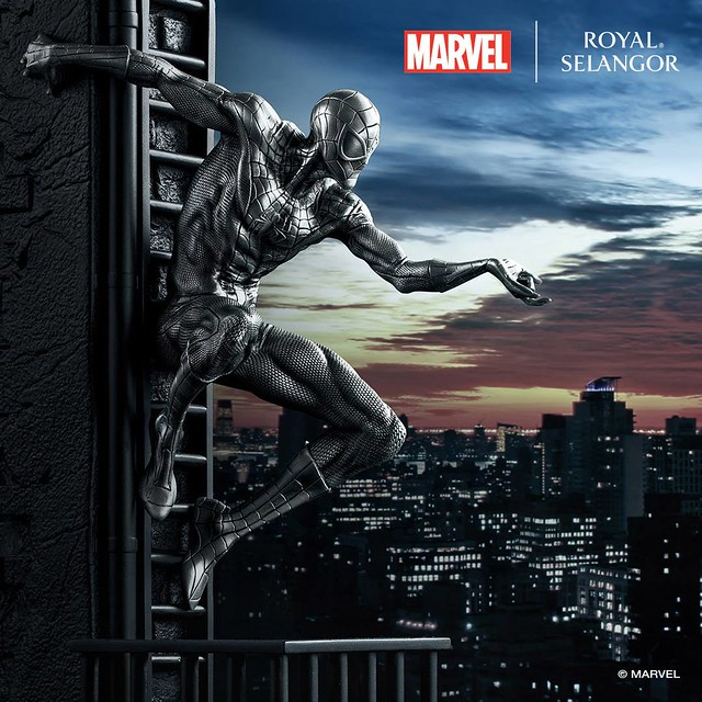 你最有質感的友善好鄰居?! Royal Selangor Marvel Comics【蜘蛛人】Spider-Man 合金雕像作品