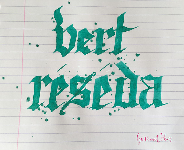 Ink Shot Review J. Herbin Vert Réséda @KnightsWritingC 8
