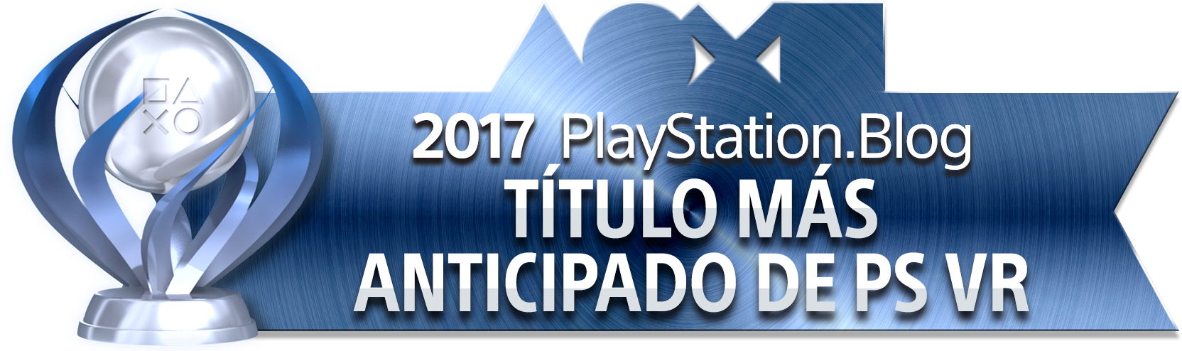 PlayStation Blog Game of the Year 2017 - Most Anticipated PS VR Title (Platinum)