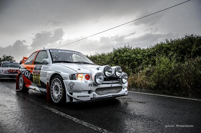 Ford Escort WRC (Graham Butler y Oscar García del Hoyo), Rally Trasmiera 2017