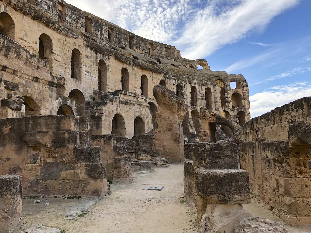 Tunisia, El Jem ja amfiteatteri