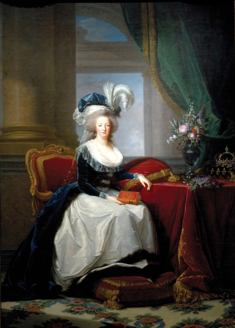 Marie Antoinette, Queen of France by Louise Élisabeth Vigée Le Brun, 1788