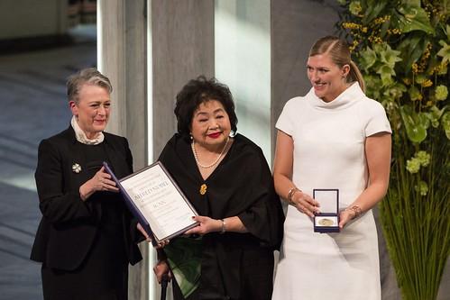 Verleihung des Friedensnobelpreises an ICAN