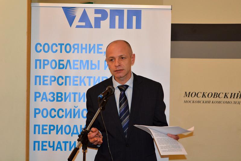 Александр Орешкин, вице-президент НАИ
