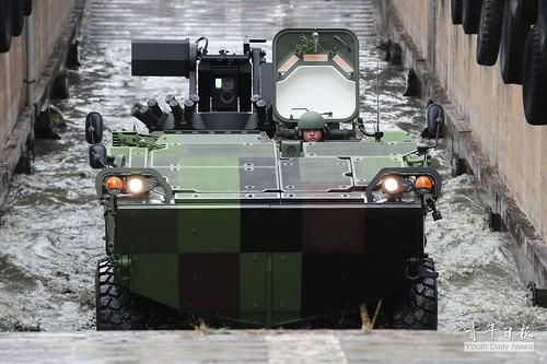 雲豹甲車動態性能測試