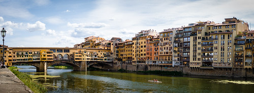 Sunny Day at the Ponte Veccio - Firenze from Toni Hoffmann