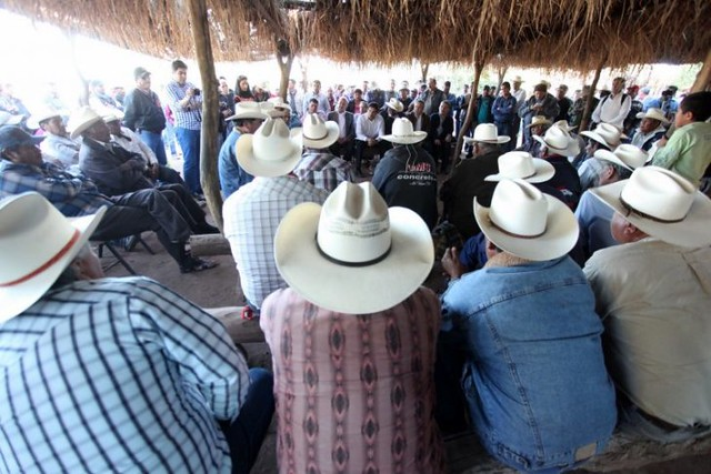 photo of Yaqui Community Gathering