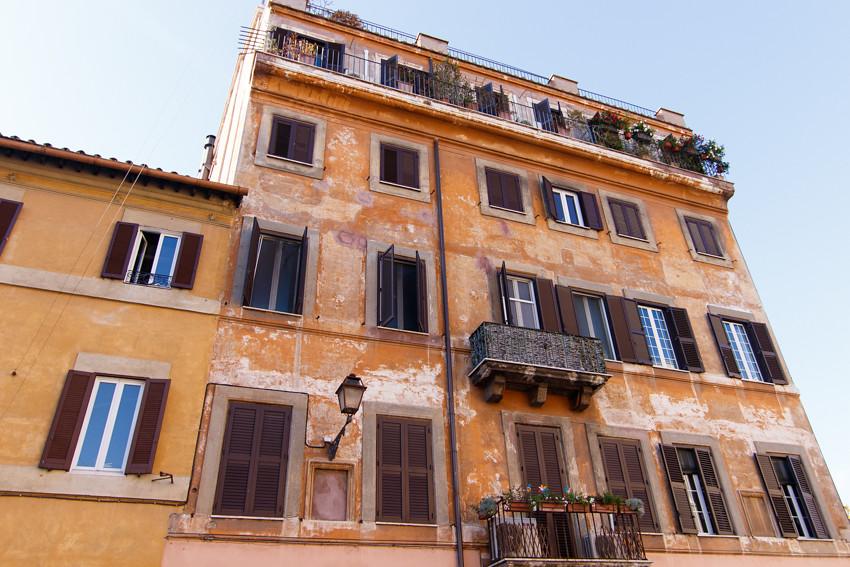 Trastevere Rome Italy November travelling-1713