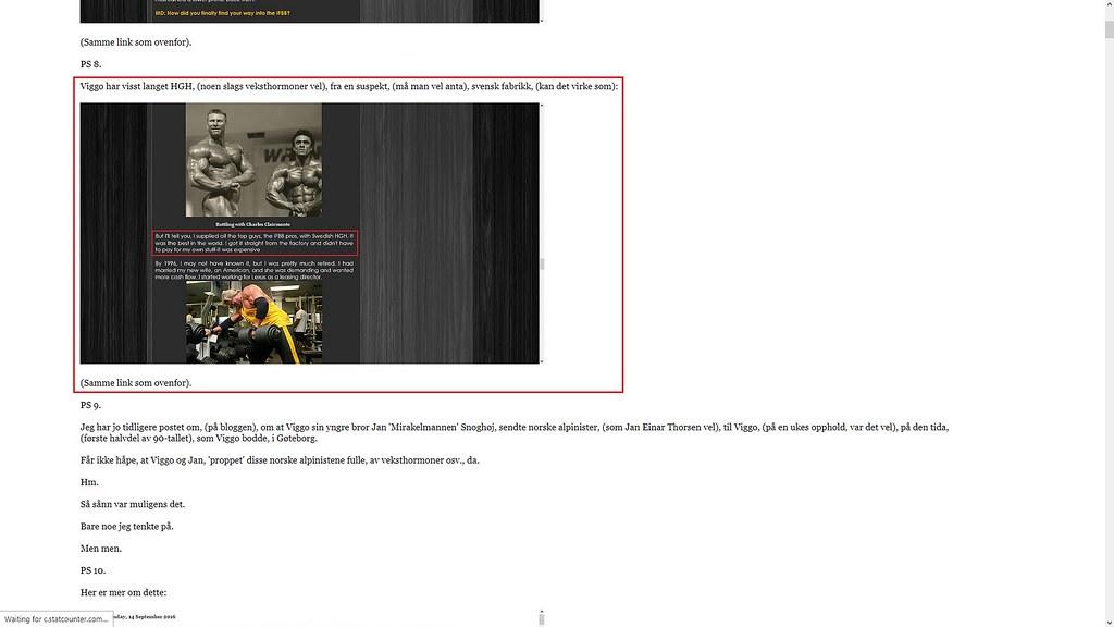 viggo leverte svensk doping