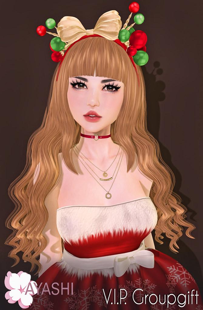 [^.^Ayashi^.^] Christmas V.I.P. group gift - TeleportHub.com Live!