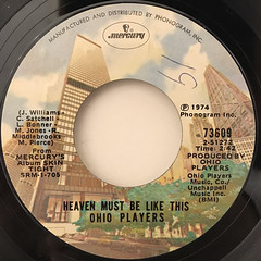 OHIO PLAYERS:SKIN TIGHT(LABEL SIDE-B)