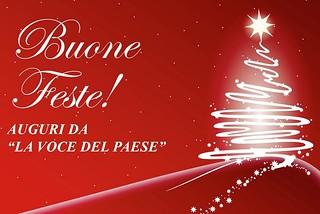 Noicattaro. Auguri festività natalizie front