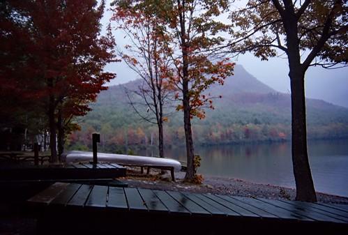New England Lake - Kodachrome - 1987