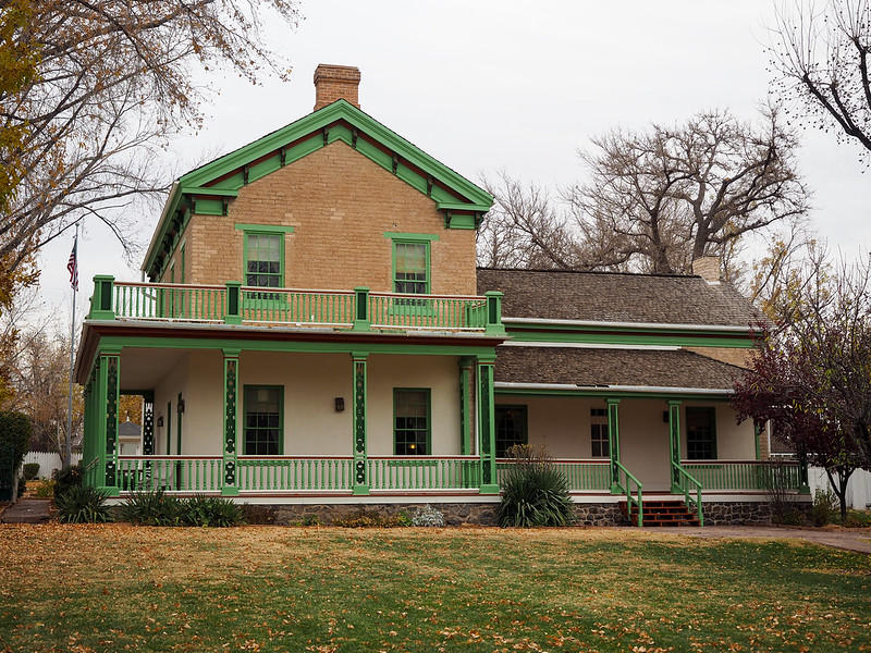 Brigham Young Winter Home and Office in St. George, Utah