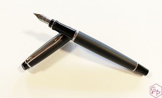 Review Waterman Expert 3 Matte Black Fountain Pen @KnightsWritingC 12