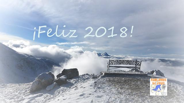Feliz año Hablamos de esquí