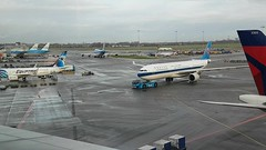 Waiting in Amsterdam Schiphol airport