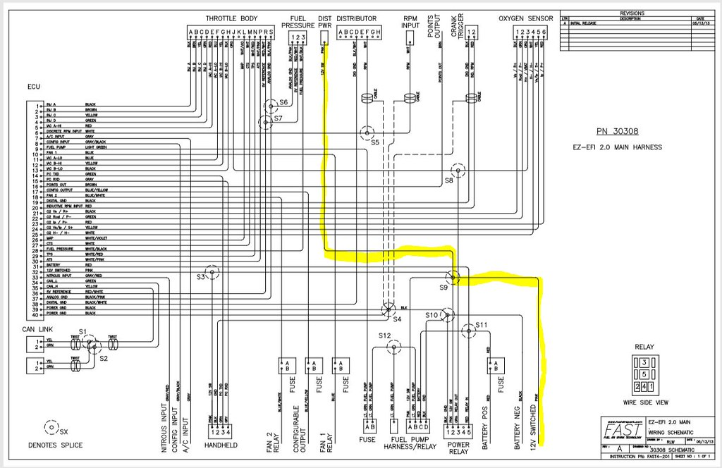 blueprint with efi and ron francis wiring harness rh thefactoryfiveforum com Ignition Wiring Diagram 2010 Ezgo RXV Wiring-Diagram