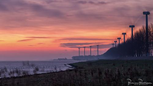 Friday Sunrise Haringvliet