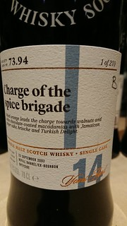 SMWS 73.94 - Charge of the spice brigade