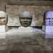Olmec heads, Anthropology Museum, Xalapa por Second-Half Travels