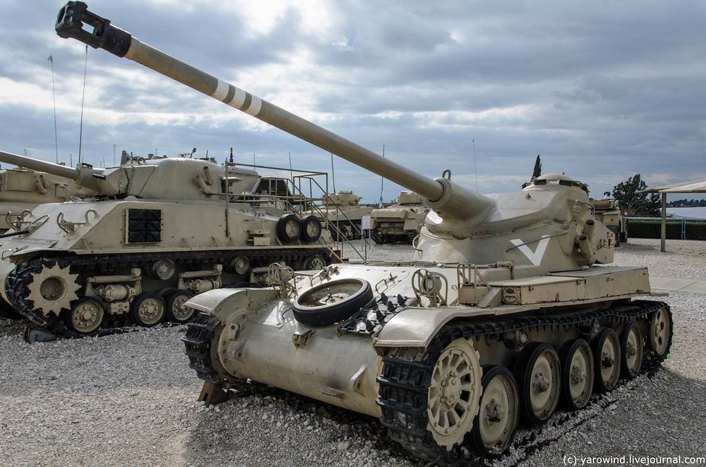 Танковый музей в Латруне