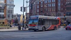 WMATA Metrobus 2012 Orion VII 3G BRT Diesel #3077