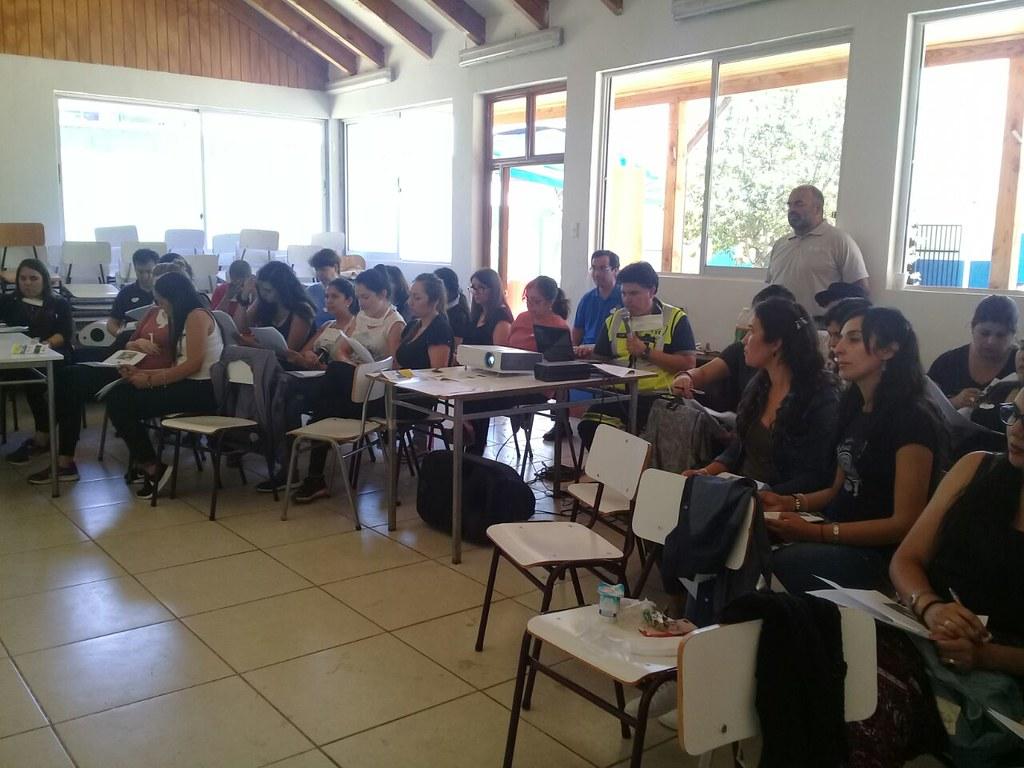 Capacitación en RCP a 46 profesores del Colegio Alcántara de Talagante
