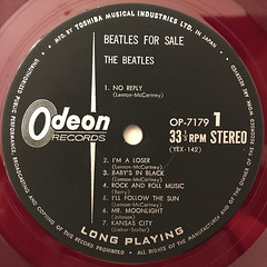THE BEATLES:BEATLES FOR SALE(LABEL SIDE-A)
