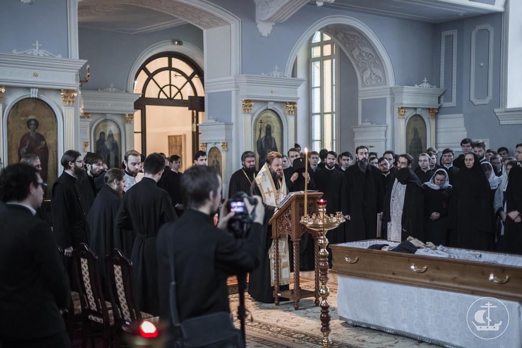 24 Декабря 2017, Заупокойная молитва об отце Ианнуарии/ 24 December 2017, The funeral prayer for father Iannoarius