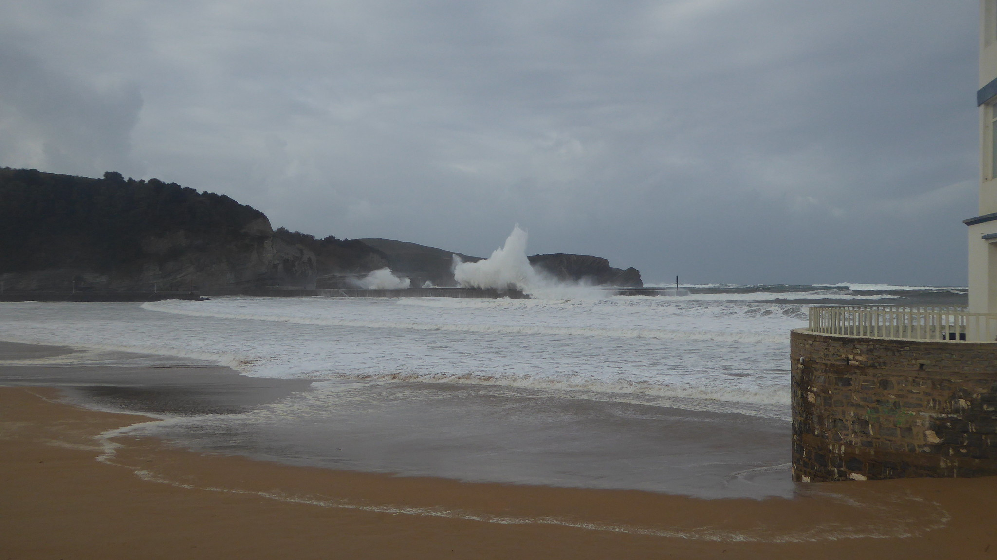 Temporal de viento y olas en la zona de Plentzia-Barrika-Gorliz II