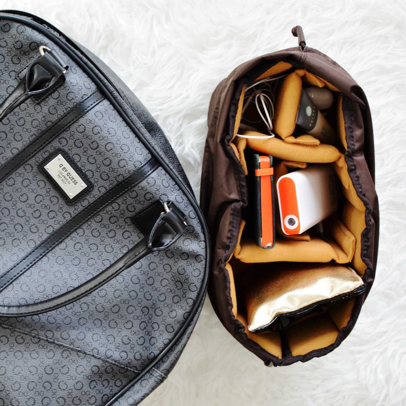My DIY Work Bag for Girls Who Carry their Life Around