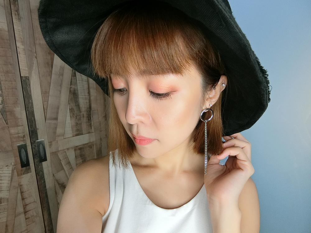 Monochrome Peach Makeup Xinyi Cyndi Soh W.Lab