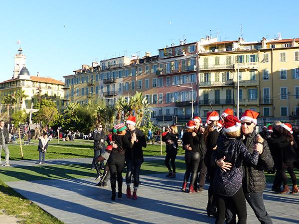 danses de Noël à Nice