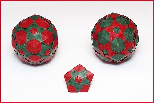 Origami Taj Mahal (Valentina Minayeva)