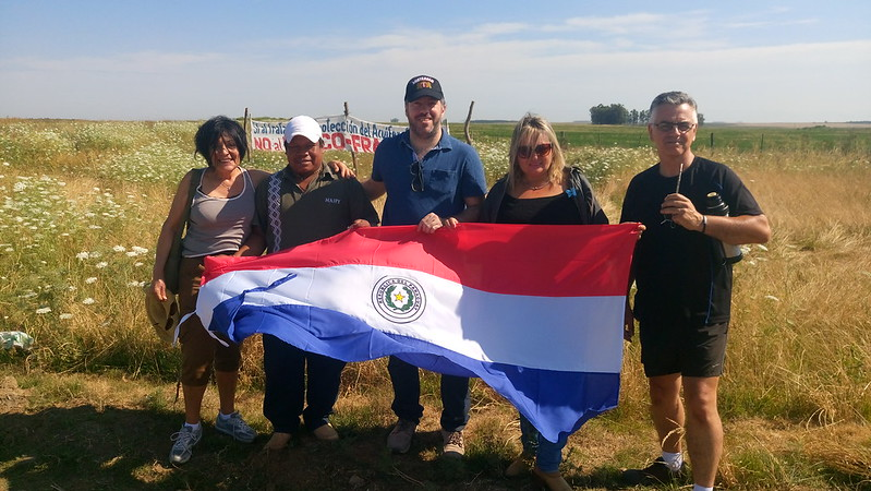 II Marcha Internacional em defesa do Aquífero Guarani