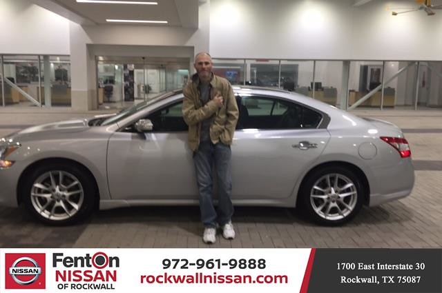 Fenton Nissan Of Rockwall >> Happy Anniversary To On Your Nissan Maxima From Deen Sla