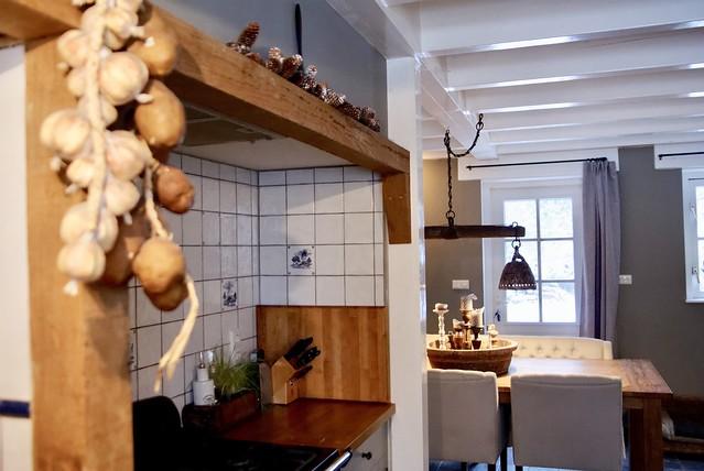 Knoflookstreng keuken schouw